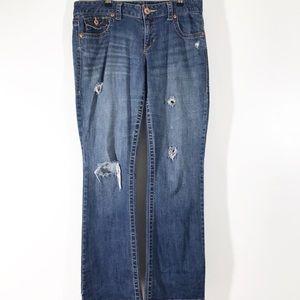Aéropostale Chelsea  Distressed Jeans 11/12